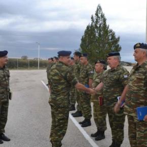 Επίσκεψη Διοικητή 1ης ΣΤΡΑΤΙΑΣ/EU-OHQ στην Περιοχή Ευθύνης της XVI Μ/Κ ΜΠΦωτογραφίες.