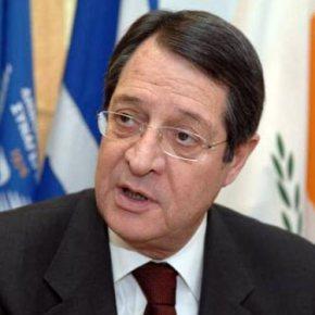 Όρους θέτει ο Αναστασιάδης για επανέναρξη συνομιλιών στοΚυπριακό