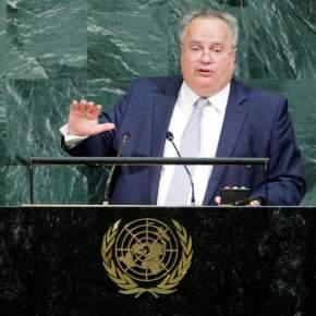 Κυπριακό, σκοπιανό και ελληνοτουρκικές σχέσεις στο επίκεντρο της ομιλίας Κοτζιά στονΟΗΕ