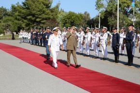 Ο Ιταλός Αρχηγός Ενόπλων Δυνάμεων στην Ελλάδα –ΦΩΤΟ