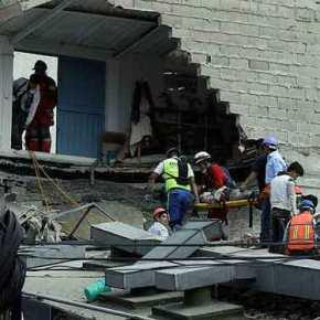 Τουλάχιστον 216 νεκροί, μεταξύ των οποίων 22 μαθητές, από τον σεισμό 7,1 Ρίχτερ στοΜεξικό