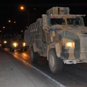 Τουρκία: Θωρακισμένα οχήματα του στρατού μεταφέρονται στα σύνορα μεΣυρία