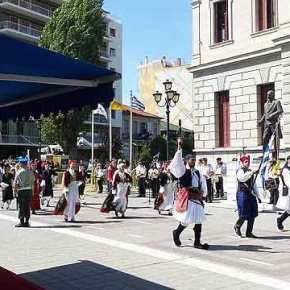 Άλωση της Τριπολιτσάς: Τσολιάδες έκαναν παρέλαση με το «…ναύτη τουΑιγαίου»