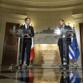 Ελάφρυνση χρέους χωρίς νέα μέτρα από το ΔΝΤ ζητά οΜακρόν