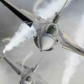 Με 2 Οπλισμένα F-16 οι Τούρκοι έκοψαν στη μέση το Αιγαίο…13Παραβιάσεις!
