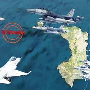 Με μισή Ντουζίνα Τούρκικα F-16 τα έβαλαν δυο απο τους » Κεραυνούς της 330Μ»!