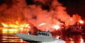 Το Ελληνικό Σκάφος των Ειδικών Δυνάμεων «Ωκύαλος» των ΟΥΚ του ΠΝ …Θα βάλει τη φωτιά στην «Αρμάτα»(video)