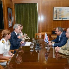 Συνάντηση Πάνου Καμμένου με τον Αμερικανό πρεσβευτή στηνΕλλάδα