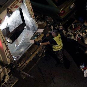 Πάτρα-Τραγωδία: Ακρωτηριάστηκε εργαζόμενος στο Δήμο-Έσκασε σακούλασκουπιδιών