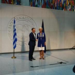 Αλέξης Τσίπρας μετά τη συνάντηση με Κριστίν Λαγκάρντ: «Το ΔΝΤ θα παίξει ζωτικό και σημαντικό ρόλο για τοχρέος»