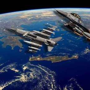 """Τουρκικό """"πανηγυράκι"""" στο Αιγαίο λόγω """"αναβάθμισης ελληνικώνF-16"""""""