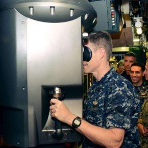 Πρωτοφανές: Ο διοικητής του ΝΑΤΟ στο περισκόπιο του υποβρυχίου «ΠΙΠΙΝΟΣ» σε βολή τορπίλης με «κατεύθυνση» τουρκικόστόλο