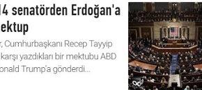 Επιστολή για Ερντογάν από 14 Γερουσιαστές τωνΗΠΑ
