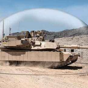 """Ισραηλινή """"ασπίδα"""" στα Αμερικανικά Abrams!Βίντεο"""