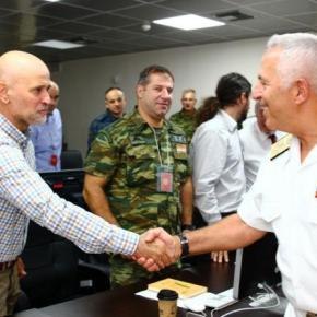 ΠΑΡΜΕΝΙΩΝ: Ο Αρχηγός ΓΕΕΘΑ στην άσκηση κυβερνοάμυναςΠΑΝΟΠΤΗΣ