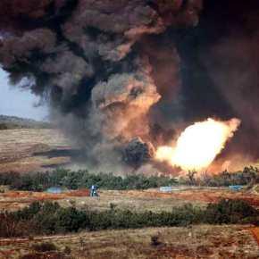 Βρέχει φωτιά και ατσάλι στα ελληνοτουρκικάσύνορα