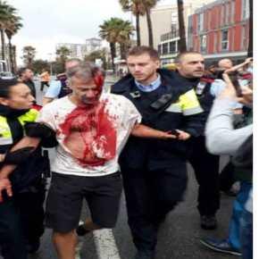 Ιστορικές στιγμές στην Ευρώπη: Η ισπανική αστυνομία ξεκίνησε εφόδους σε εκλογικά κέντρα στηνΚαταλονία