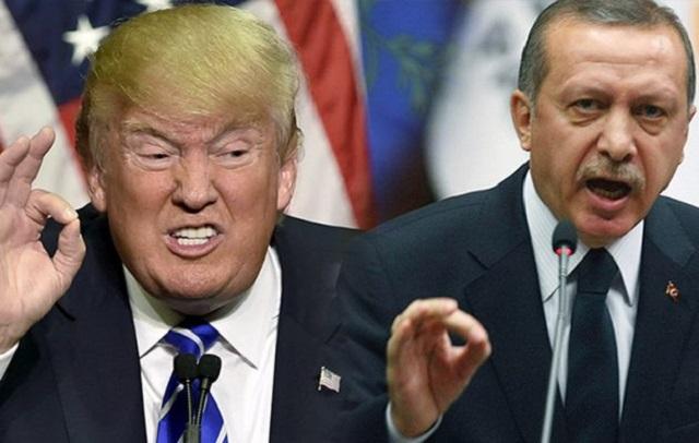 Αποτέλεσμα εικόνας για σύγκρουση ΗΠΑ Τουρκίας
