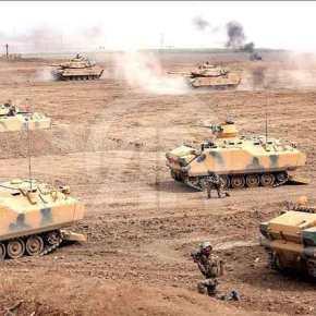 Πάνω από 30 τουρκικά άρματα μάχης «άναψαν σανλαμπάδα»