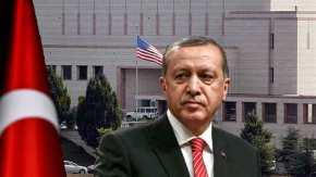 Αδίστακτος ο Ρ.Τ.Ερντογάν: Εθεσε υπό κράτηση υπάλληλο της Πρεσβείας των ΗΠΑ λόγωκατασκοπείας