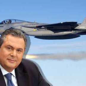 """Εξέλιξη «βόμβα» – Π.Καμμένος: """"Έκανε και η Boeing προσφορά για τα F-16""""–"""