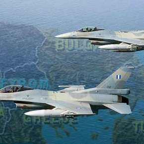 Μαχητικά F-16, Mirage 2000 και F-4Ε Phantom σε σχηματισμούς μάχης στη Θεσσαλονίκη στέλνουν θανατηφόρο μήνυμα σε Αλβανία-Σκόπια –Βίντεο