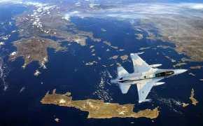 Μαζικές παραβιάσεις με στόχο την απόβαση του Παρμενίωνα στη Ρόδο και πρόβλημα μεF-16