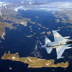 ΕΚΤΑΚΤΟ – Ελληνικό F-16 Block 52+ παρουσίασε μηχανικό πρόβλημα τη στιγμή της εμπλοκής του με τουρκικό μαχητικό ΝΑ τηςΡόδου