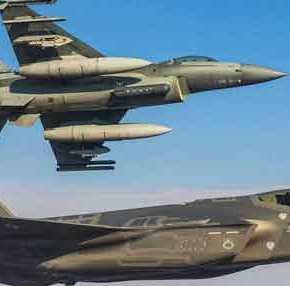 Επιστολή-βόμβα αντιπτεράρχου στην Βουλή: «Είναι αδύνατον ένα εκσυγχρονισμένο F-16 να αντιμετωπίσειF-35»