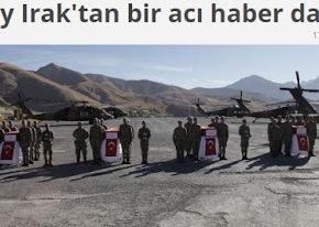 Τέσσερις Τούρκοι στρατιώτες σκοτώθηκαν στο ιρακινόΚουρδιστάν