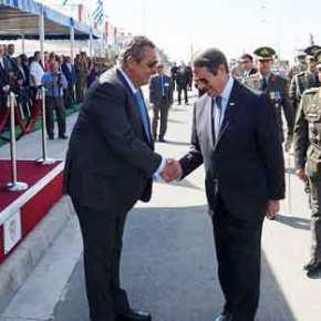 """""""Η Κύπρος δεν είναι μακριά"""" δηλώνει ο Καμμένος και ο Αναστασιάδης εξαγγέλει εκσυγχρονισμόΕΔ"""