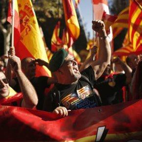 Τουλάχιστον 350.000 άνθρωποι διαδήλωσαν στη Βαρκελώνη κατά τηςαπόσχισης