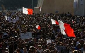 Μάλτα: Χιλιάδες στους δρόμους μετά τη δολοφονία τηςδημοσιογράφου