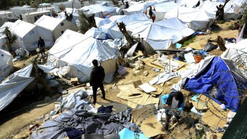 «Εκρηκτική» η κατάσταση στη Μόρια: Πάνω από 5.000 πρόσφυγες στο hotspot