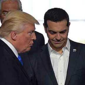 Γεωπολιτική και οικονομία στην ατζέντα Τσίπρα –Τραμπ