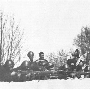 Η οργάνωση του Ελληνικού Πεζικού στην εποποιία του1940
