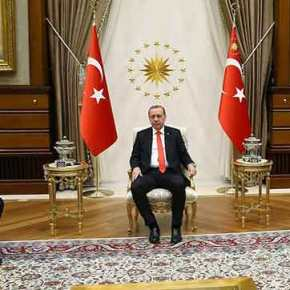 Τι Εγινε Ρε Παιδιά..Γιατι Δεν Υπήρχε Ελληνική Σημαία Στη Συνάντηση Ερντογάν-Κοτζιά…;;