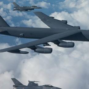 ΒΓΑΖΟΥΝ… ΠΑΓΑΝΙΑ ΤΑ ΒΟΜΒΑΡΔΙΣΤΙΚΑ Β-52 ΕΠΙ 24ΩΡΟΥ ΒΑΣΕΩΣ ΟΙΑΜΕΡΙΚΑΝΟΙ!