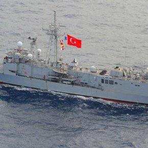 Πρωτοφανές: Ελληνικό πολεμικό πλοίο ανεφοδίασε με καύσιμα τουρκική φρεγάτα έξω από τηΚύπρο!