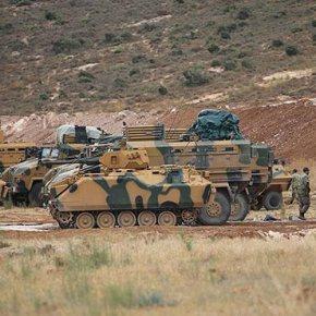 Ο τουρκικός στρατός δημιουργεί παρατηρητήρια στηνΙντλίμπ