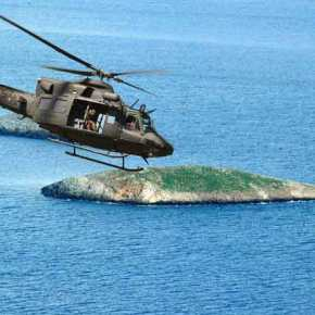 ΕΚΤΑΚΤΟ: Τουρκικό ελικόπτερο AB-412 με κομάντος πέταξε δύο φορές πάνω από τα Ίμια – Η πρώτη υπέρπτηση ήταν στα 30μέτρα