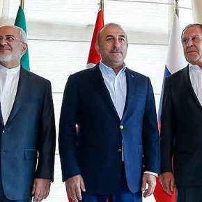 «Διέβη τον Ρουβίκωνα» η Τουρκία: Συνάντηση Αρχηγών Ενόπλων Δυνάμεων και των προέδρων Ρωσίας-Τουρκίας-Ιράν εναντίον τουΝΑΤΟ