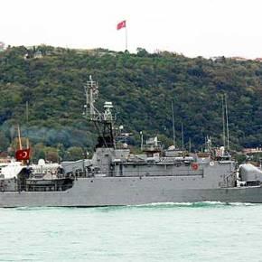 «Αφλογιστία» έπαθε η Τουρκική Κορβέτα TCG Bodrum (F-501) & Αποχώρησε με την ουρά στασκέλια!
