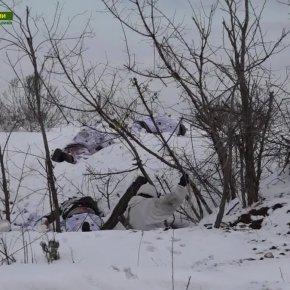 κληρές εικόνες: Οι Ρώσοι θέρισαν τους Ουκρανούς μετά από ανατρεπτική επιχείρηση στο Λουχάνσκ – Τα «πράσινα ανθρωπάκια» εμφανίστηκαν ξανά(βίντεο)