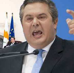 «Αν θες ειρήνη ετοιμάσου για πόλεμο» είπε ο ΥΕΘΑ Π.Καμμένος αμέσως μετά την συμφωνία Κύπρου-Αιγύπτου!