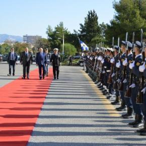 Μήνυμα στην Τουρκία απηύθυναν οι υπουργοί Άμυνας Ελλάδας – Κύπρου –Ισραήλ