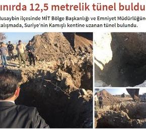Οι Τούρκοι εντόπισαν σήραγγα των Κούρδων στα σύνορα μεΣυρία