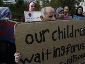 Απεργία πείνας προσφύγων στοΣύνταγμα
