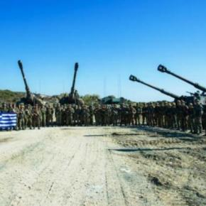 O ΑΓΕΣ στην περιοχή ευθύνης του Δ΄ΣΣ παρακολούθησε ασκήσεις πυροβολικού –ΦΩΤΟ