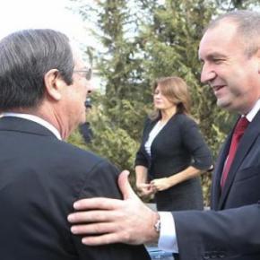 Κύπρος: Tι συζήτησαν ο Πρόεδρος Αναστασιάδης με τον Πρόεδρο τηςΒουλγαρίας
